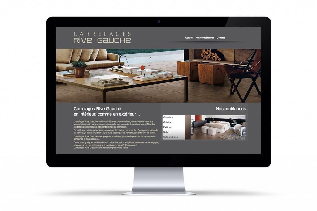 carrelages rive gauche cr ation de sites internet ch teaurenard com toiles. Black Bedroom Furniture Sets. Home Design Ideas